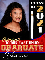 Graduate Sign Vertical 2